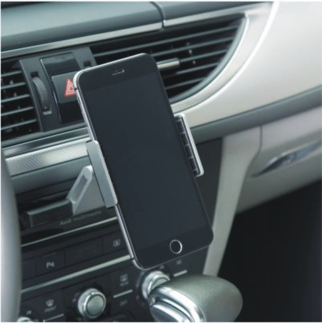 Universal One Touch Installation CD Slot Smartphone Car Mount Holder Cradle for iPhone 6 6S plus 5S 5C 4S Galaxy S5 S4 S3 Note