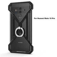 Nouveau Boîtier Métallique Unique Conception de Couverture Arrière avec Une Meilleure Anneau Béquille Pour Huawei Compagnon 10 Pro 6.0