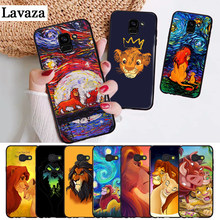 Lavaza Cartoon Movie Lion King Silicone Case for Samsung A3 A5 A6 Plus A7 A8 A9 A10 A30 A40 A50 A70 J6 A10S A30S A50S(China)
