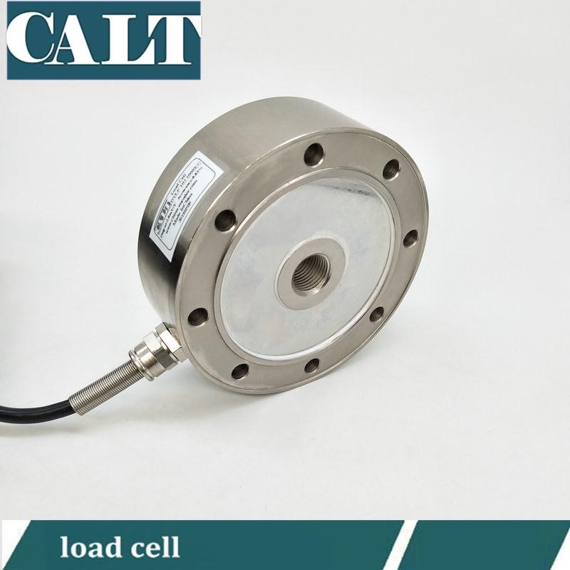все цены на DY industrial weight measurement sensor 8 hole wheel spoke strain gauge vehicle load cell with 200kg 500kg 1 ton capacity онлайн