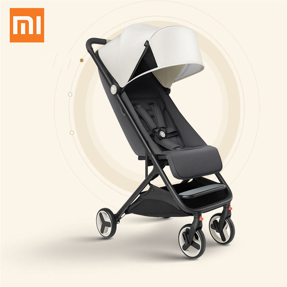 Xiaomi youpin Folding Baby Stroller Car Lightweight Portable Trolley Children Chair Travel Aluminium Alloy Stroller For Kids