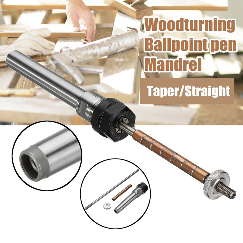 Rotary'S Top Lathe Machine Revolving Centre Wood Turning Ballpoint Pen Mandrel