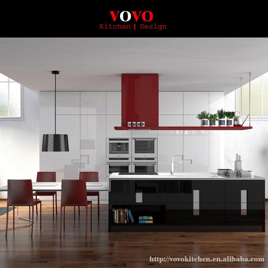 Online Get Cheap Black Lacquer Kitchen Cabinets Aliexpress – High Gloss Lacquer Kitchen Cabinets