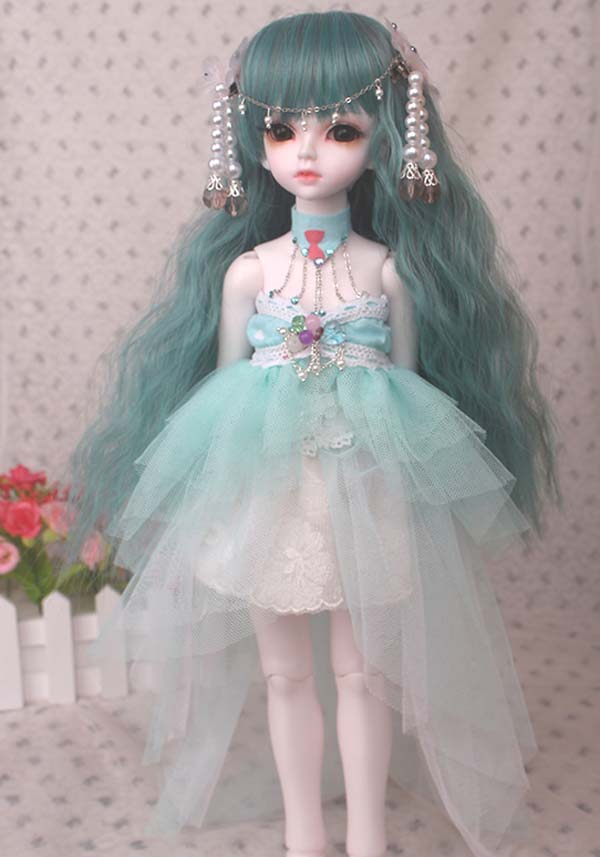 Free Shipping 1/4 BJD Doll SD Clothes Mermaid Doll Dress For Girl Gift poa lmp131 projector lamp original bulb with housing for sanyo plc wxu300 wxu300 plc xu300 xu300 plc xu301 plc xu305 plc xu3