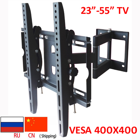 DL-WA-88ST 50KG 3 arms 55inch 42inch retractable led tv FULL motion lcd wall mounted bracket drop down tv lift