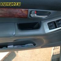 4PCS ABS Car Interior Door Stowing Holder Storage Box For Toyota Land Cruiser Prado FJ 120