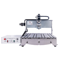 ER11 Mach3 Ball Screw 3d cnc router 6040 3axis woodworking machine with 300W spindle
