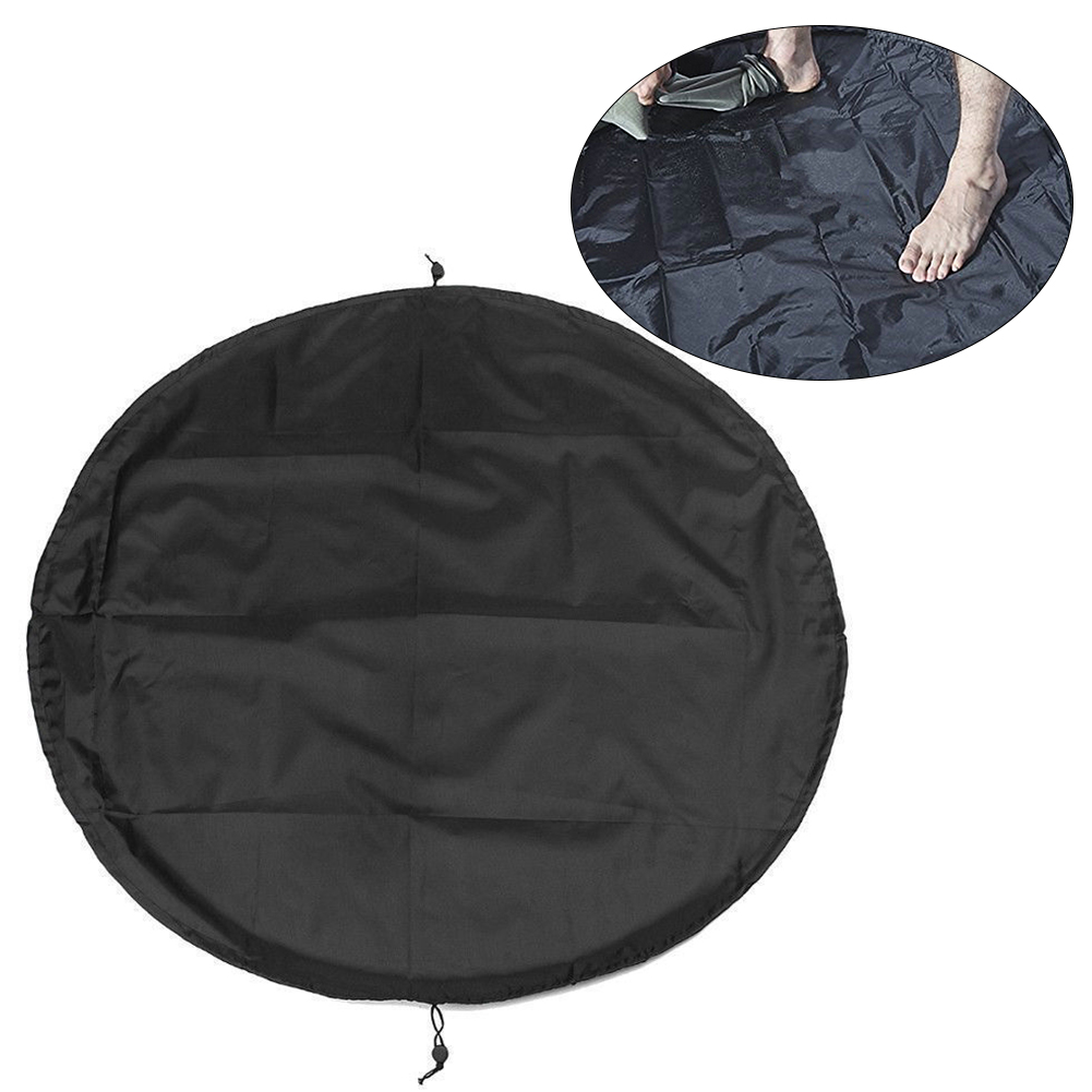 Mat Carry Pack Polyester Surfing Black Diving Suit Wetsuit Waterproof Water Sports Change Bag Portable Storage Pouch