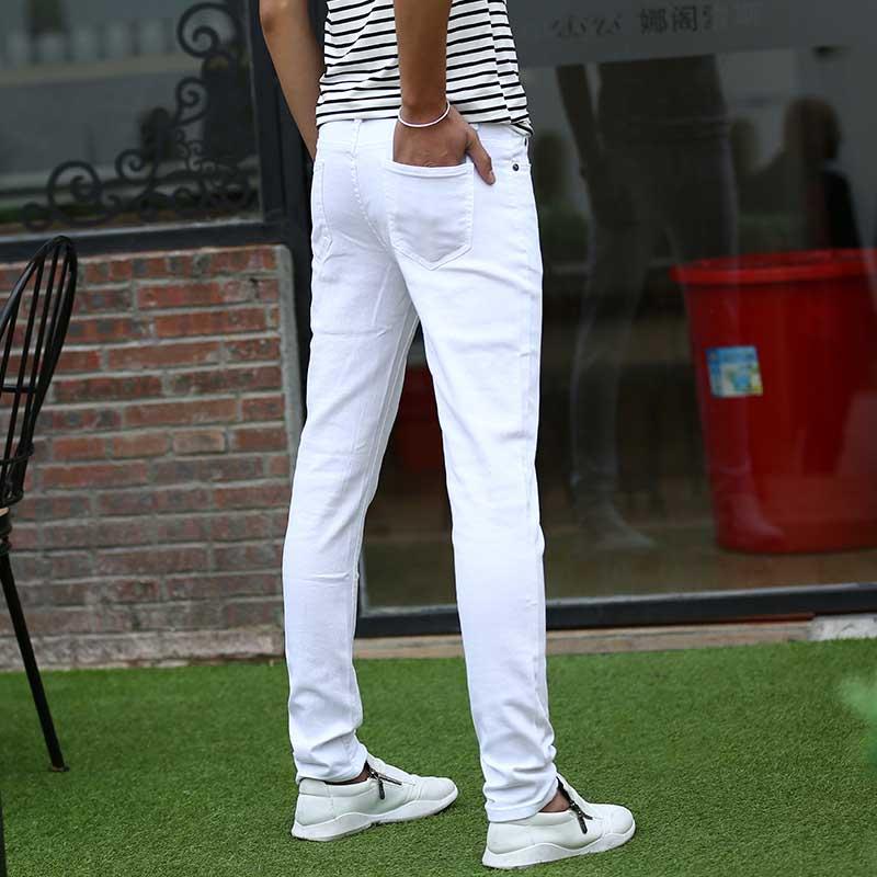 Mcikkny Fashion Men\`s Denim Jeans Pants Slim Fit Casual Denim Trousers Fashion Designer Biker Stretch Jean Joggers For Male (2)