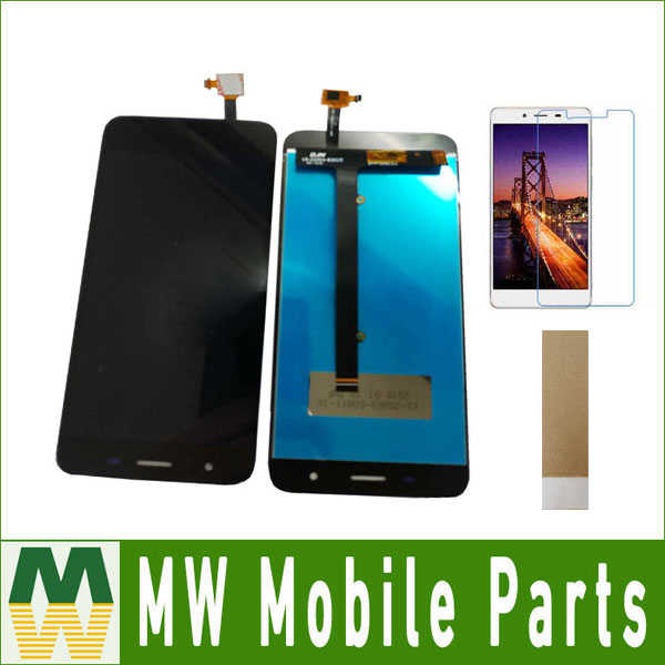 1 PC/Lot Pour Micromax Toile Jus 4 Q465 LCD Affichage Écran Et Écran Tactile Assemblée Noir Couleur avec kit