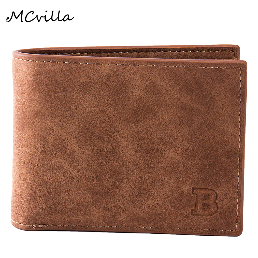 Mcvilla Men Wallets Dollar-Price New-Design Coin-Bag Money Purses Zipper Small Fashion