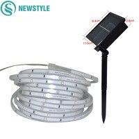 5M 100 LED Outdoor Garden Solar String Fairy Light SMD2835 IP67 Waterproof Solar Christmas Garlands String Light Ribbon Tape