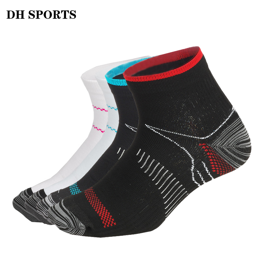 DH SPORTS Men Women Compression Running Socks Professional Sport Riding Socks Basketball Badminton Hiking Racing Cycling Socks quiksilver riding socks youth brillant 1108221