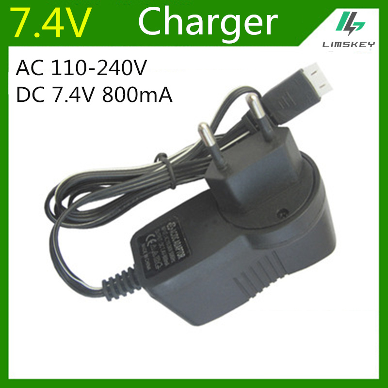 <font><b>7.4V</b></font> 800 mA Charger For 2S Lipo <font><b>battery</b></font> pack charger For toy RC Toys 3P <font><b>7.4V</b></font> balance Charger Plug AC 110-220V DC <font><b>7.4v</b></font> <font><b>800mAh</b></font> image