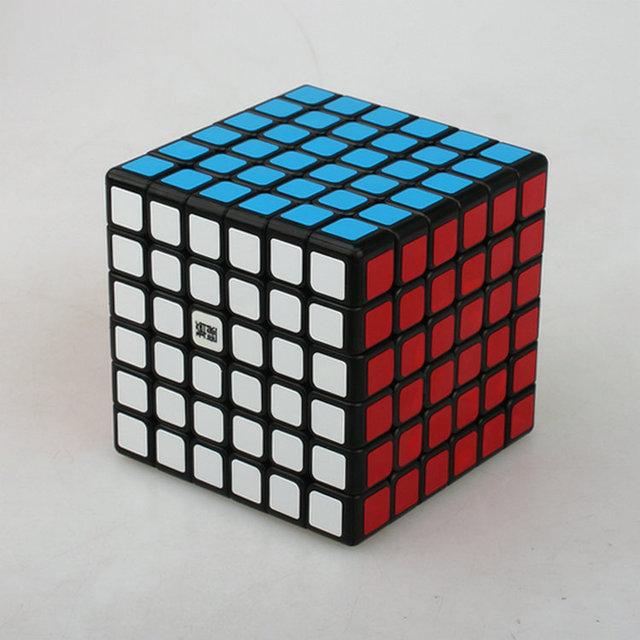 Yj moyu aoshi 6x6x6 69mm cubo mágico toque de puzzle velocidad cubos cubo mágico juguetes educativos regalo de los cabritos envío gratis