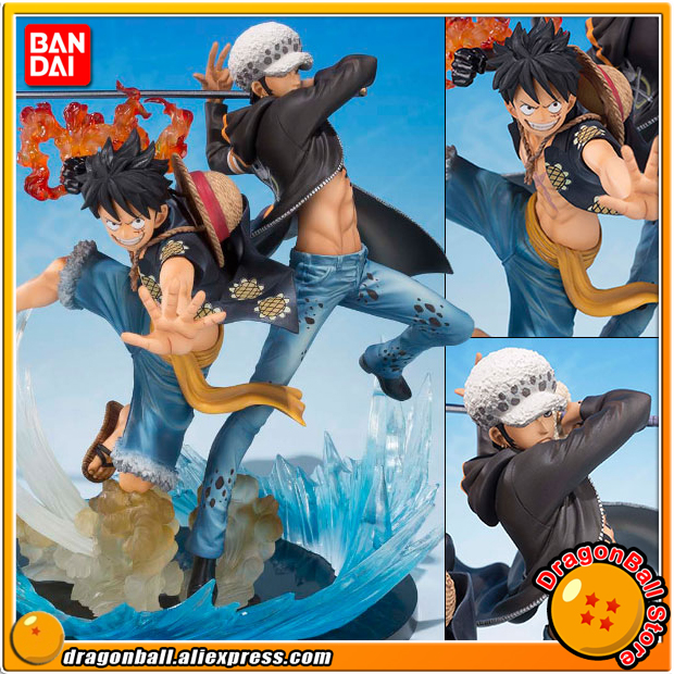 Japan Anime ONE PIECE 100% Original BANDAI Tamashii Nations Figuarts Zero Toy Figure - Luffy & Law -5th Anniversary Edition-Japan Anime ONE PIECE 100% Original BANDAI Tamashii Nations Figuarts Zero Toy Figure - Luffy & Law -5th Anniversary Edition-