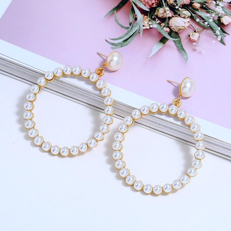 Pearl Drop Earring (4)