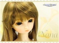 Free Shipping! Free makeup eyes included ! SD NANA ver. 2 top quality 1/3 bjd girl female sexy 58cm doll best gift top art