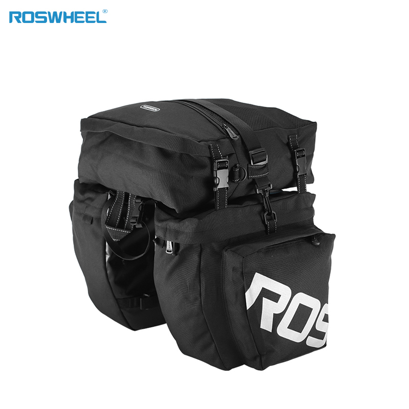 2e876a9c33d ... bladder helmet holder bicycle bag cycling backpack for running hiking  climbing. US $34.99. ROSWHEEL 37L Water Resistant Bicycle Cycling Rear  Pannier Bag ...