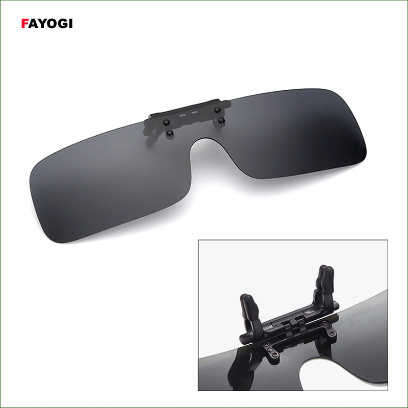 SGC03 All-in-one Polarized Sunglasses Clip Women & Men Night Vision Goggles For fishing travel one night in spain