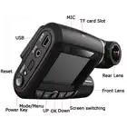 WHEXUNE mini Dashcam doble lente coche DVR Cámara Novatek 96663 grabadora de vídeo Full HD 1080P 2,0 pulgadas pantalla LCD super visión nocturna - 5