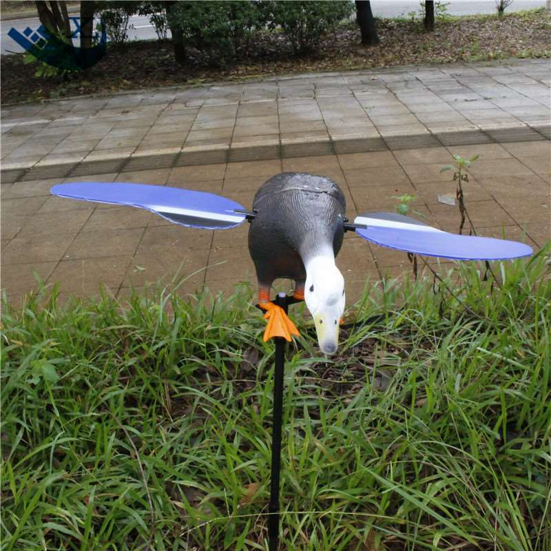 ФОТО Outdoor Hunting Duck Decoy Remote Control 6V Plastic Green Head Decoy Equipment For Hunting From Xilei