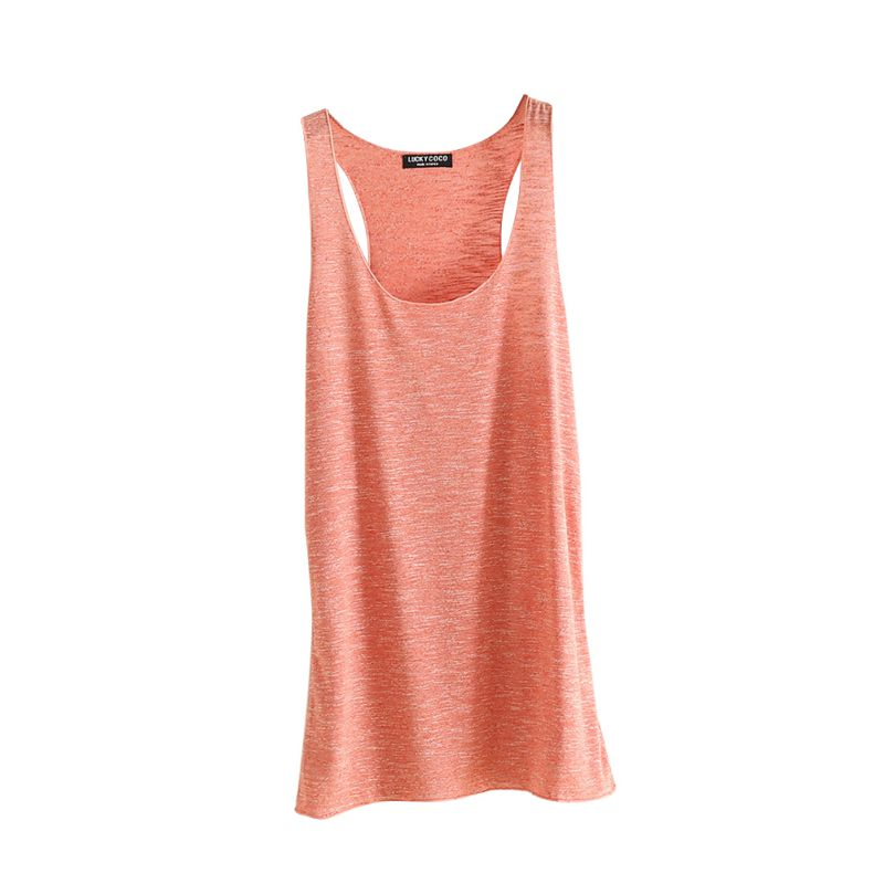 Women Fitness Tank Top T Shirt Vest Loose Model Women T