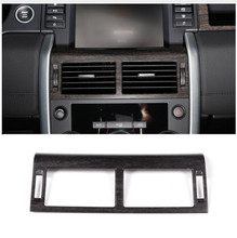 Oak Wood Style Center Console Dashboard Air Conditioning Vents outlet Cover For Land Rover Discovery Sport 2015-2017 Car Part