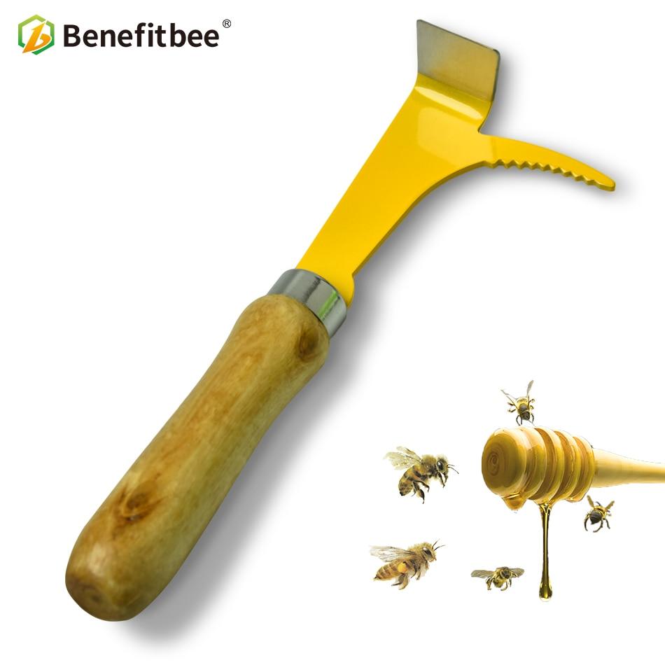 Benefitbee 19cm Stainlee Steel Beehive Scraper Knife Beekeeping Tool For Beekeeper Apiculture Tools Equipment Supplies Bee Tool