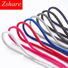 1Pair Shoelace Semicircular shape Sport Sneakers Flat Shoelaces Bootlaces Shoe laces Strings For Multi Color 100/120/140CM BY1 1pair 120 130 140 160cm shoelaces pink sport travel shoelace classic jelly color flat polyester shoe laces girls blue shoelace