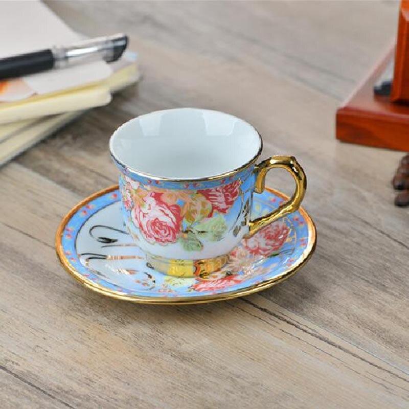 Ceramic Tea Set Of Coffee Cups And Saucers Ceramic Coffee