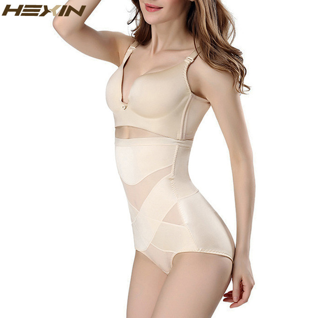 b16328970bfad HEXIN Sexy Bodysuit Women's Slimming Waist Body Shapers Postpartum  Underwear Belly High Waist Pants Buttocks Shapewear Corset