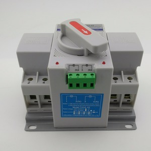 Image 3 - 2P 63A 230V MCB type Dual Power Automatic transfer switch ATS