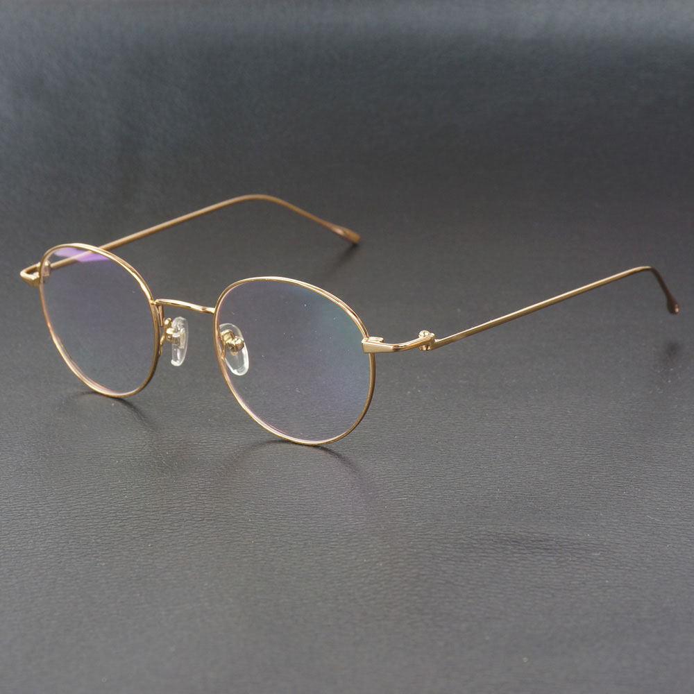 Nouveauté lunettes de lecture cadre pour hommes femmes lunettes de luxe conception Simple à la mode en métal cadre ordinateur lunettes Carter