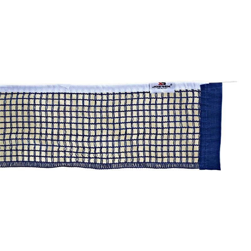 Joerex Table Tennis Net Nylon Mesh Blue Holder Ping Pong Replacement Post Set