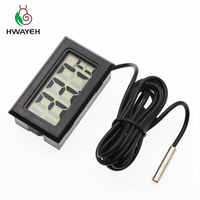 1 Pza termómetro Digital LCD para temperatura del congelador-50 ~ 110 grados termómetro del refrigerador envío gratis