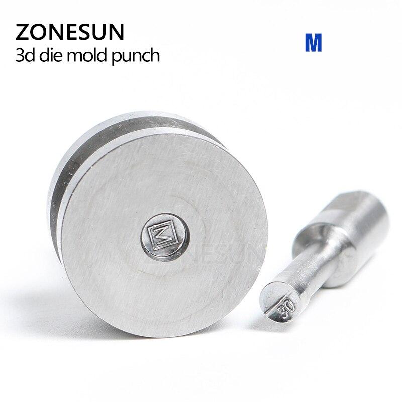 ZONESUN Circlar Stamp Round Die Mold tablet die TESLA Press Mold Punch Die Mould press die TDP-0/1.5T/5T(8mm) a215 baterpak stamp circlar round die mold press mold punch die mould press die dia 6mm round tdp 0 1 5t 5t