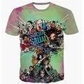 Men Suicide Squad T Shirt Joker Haley Quinn New Deadpool Women Mens 3D T-shirts Summer Movie Anime T-shirt Tops Tees Clothing