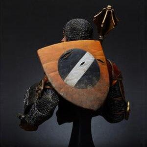 Image 5 - 1/10 harz Büste modell kit Italienischen Horseman w/Keule, 14th c geschichte figuren Unlackiert