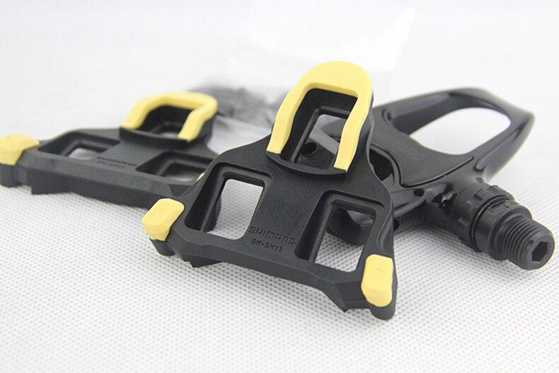 Shimano PD R540 Auto-Verrouillage SPD Pédales Composants En Utilisant pour Vélo de Course Route Vélo Pièces r540 pédale Avec SH11 crampons à l'intérieur - 4