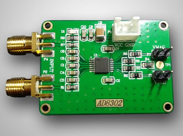 AD8302 модуль определения фазы амплитуды, широкополосный логарифмический усилитель, модуль детектора фазы 2,7G, радиочастота IF