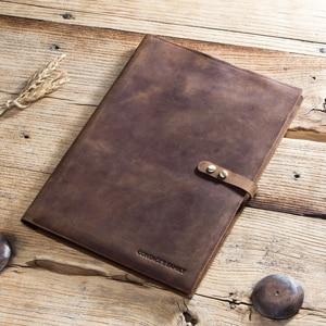 Image 2 - Retro Genuine Leather Laptop Notebook Case For Apple MacBook Retina Carry 12 inch Men Business Laptop Bag Computer Sleeve Pocket