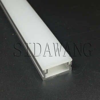 2meter per piece Waterproof Flat Led strip aluminum profiles extrusion SDW010