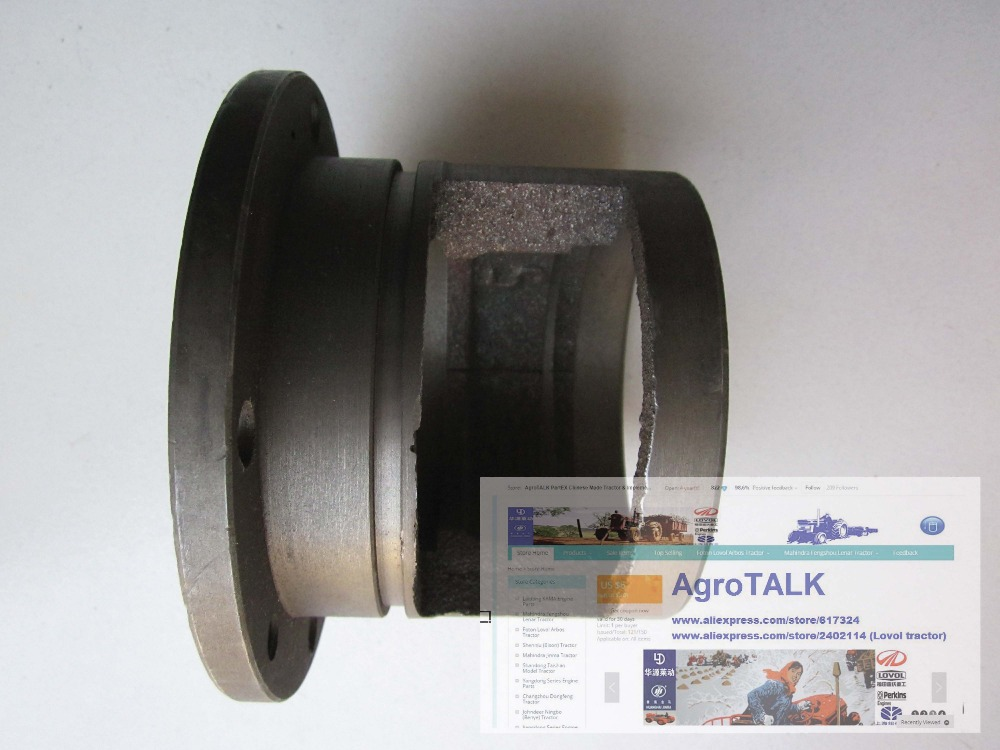 Jinma JM184-JM254 tractor, the bearing cover rear half-line , Part number: 160.37.214