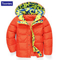 New Children Jackets For Boys Winter White Duck Down Jacket Boys Coats Hooded Boys Winter Coat Outwear Thicken Warm Winter Coats