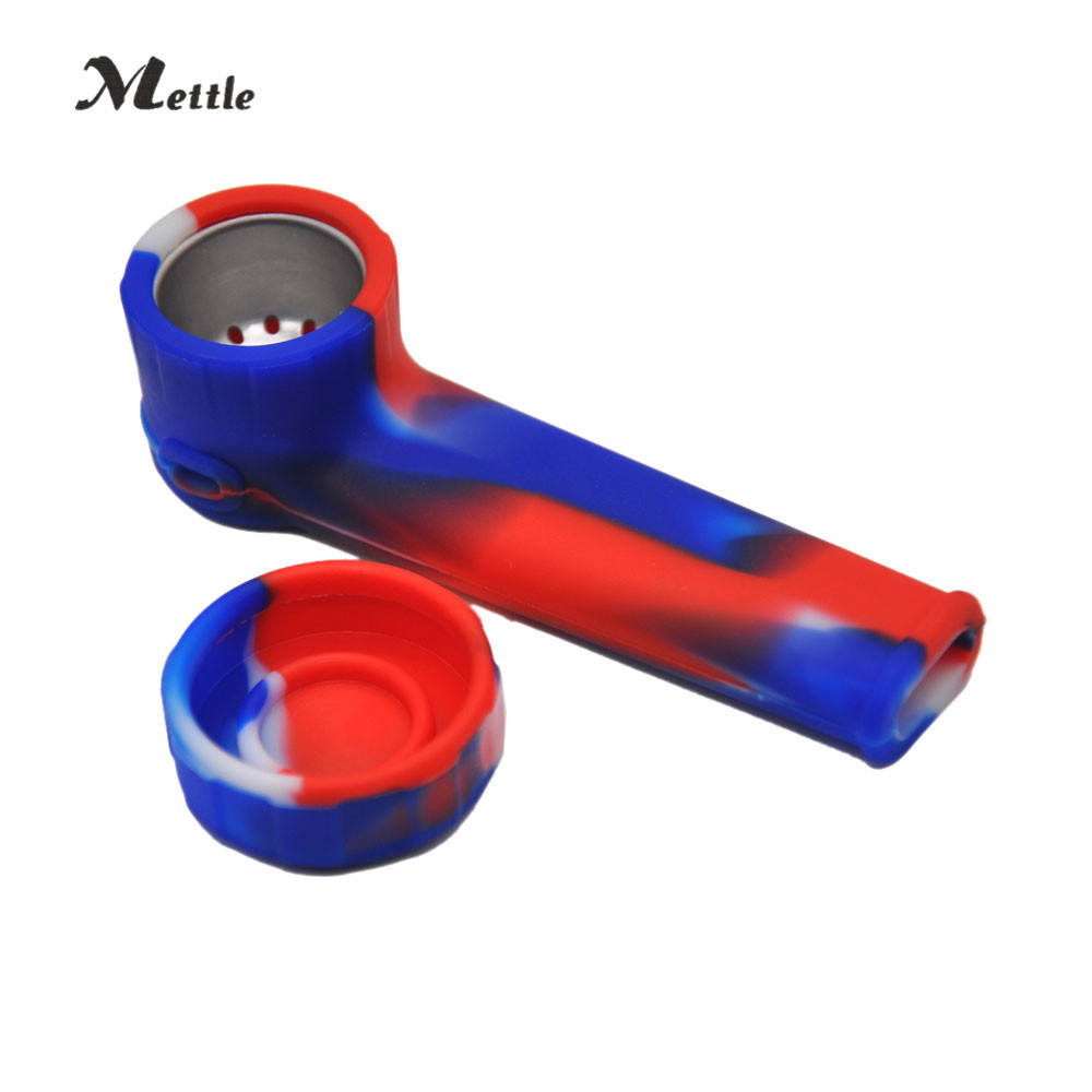 20PC High Quality Silicone Mini Water Pipe Shisha Somke Pipe Smoking Hookah Pipe New style simply operation Durable Tube