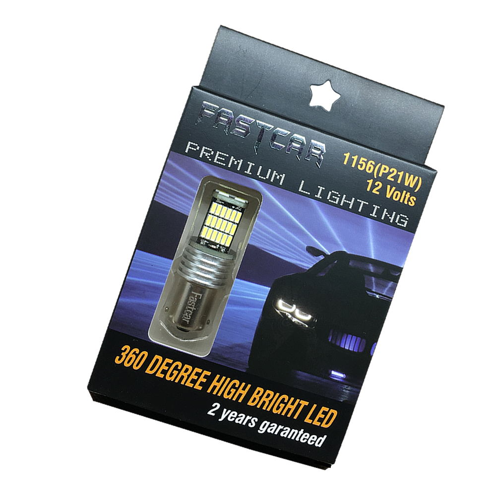 2X 12V-24V Car light led 1156 P21W BA15S 1157 P21/5W Bay15d 45 LEDS 4014 45SMD turn signal light Reversing lamp 1156 led