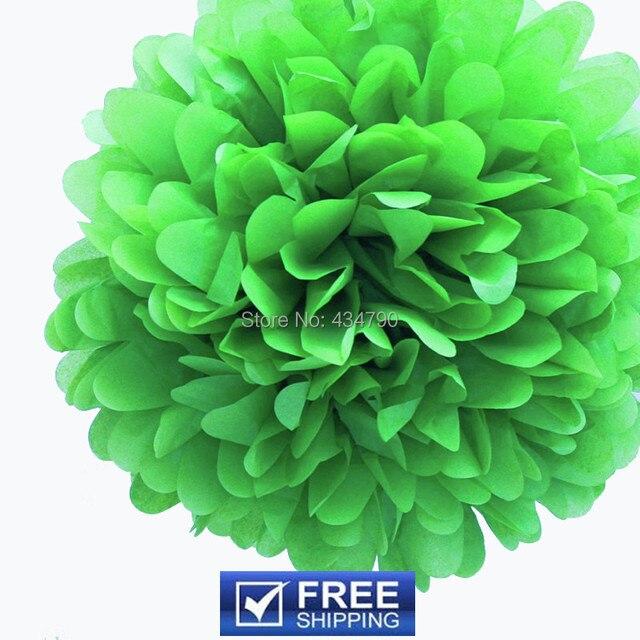 20pcs 1435cm lime green tissue paper flower balls custom outdoor 20pcs 1435cm lime green tissue paper flower balls custom outdoor nursery mightylinksfo