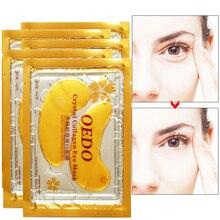 OEDO 2Pcs/Pack 24k Gold Crystal Collagen Eye Mask Anti Aging