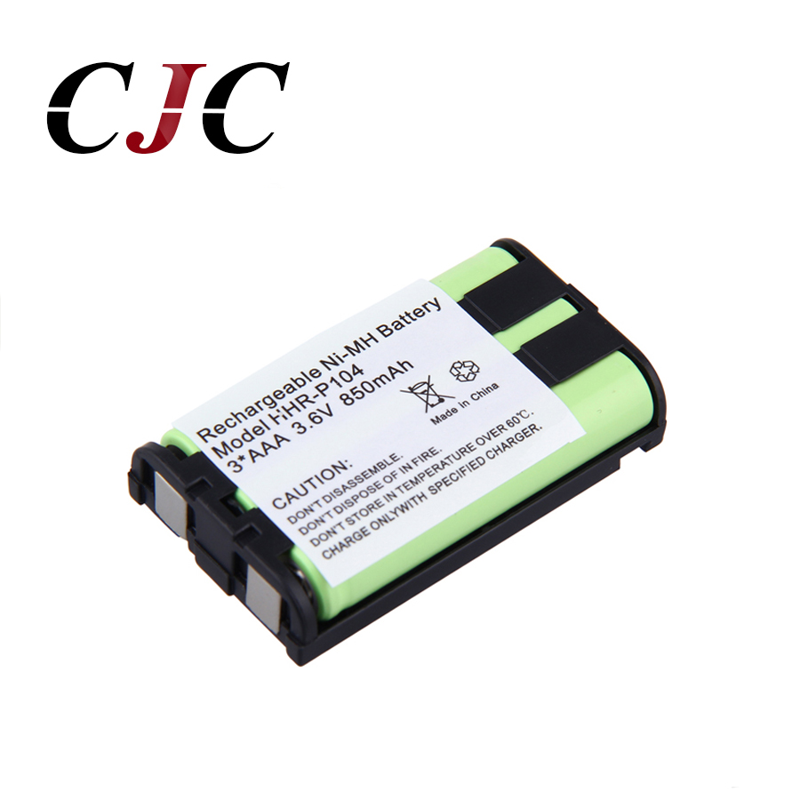 Power Source Disciplined 3.6v 850mah Ni-mh Replacement Battery For Panasonic Hhr-p104 Hhr-p104a/1b Rechargeable Cordless Home Phone Battery For Panasonic
